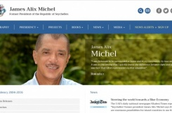 Launch of the Website of Former President James Alix Michel