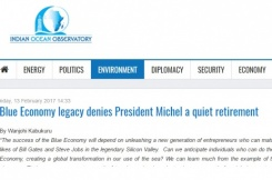 Blue Economy legacy denies President Michel a quiet retirement