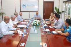 First meeting of the Executive Committee of the James Michel Foundation
