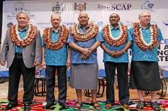The James Michel Foundation engages with international organisations at the First High-Level Pacific Blue Economy Conference