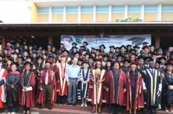 Chancellor of the University of Seychelles returns from Singapore to attend Degree Ceremony
