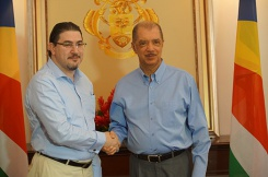 New Cypriot Ambassador to Seychelles accredited
