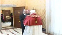 Pope Benedict XVI Receives President of the Seychelles