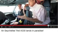 Air Seychelles' first A330 lands in paradise!